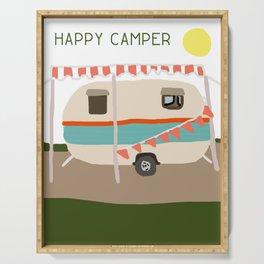 Happy Camper Serving Tray