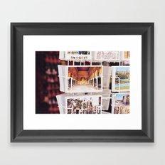 Córdoba en postales. Framed Art Print