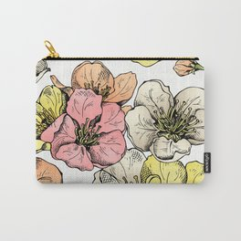 Colorful Poppies Carry-All Pouch