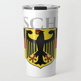 Deutschland ...German Flag and Eagle Travel Mug