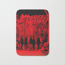 "The Perfect Red Velvet ""Bad Boy"" Bath Mat"