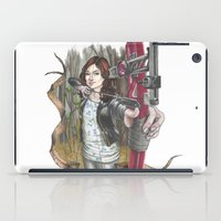 allison argent iPad Cases featuring Allison Argent - We protect those who cannot protect themselves by MonsterFromTheLAke