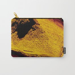 Violet Yellow Stone Carry-All Pouch
