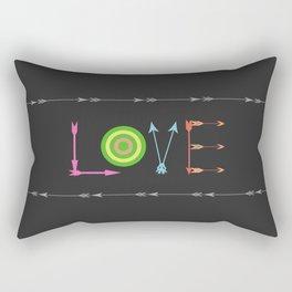 Arrow Love Rectangular Pillow