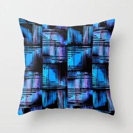 Blue Friends (1) Throw Pillow