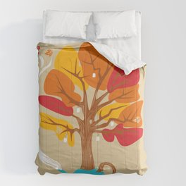 Tea Leaves Comforters