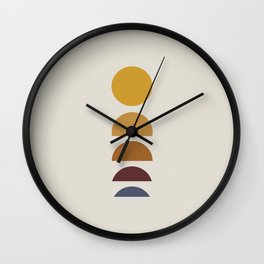 Minimal Sunrise / Sunset Wall Clock
