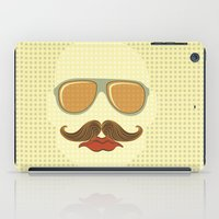 gangster iPad Cases featuring Gangster face by olillia