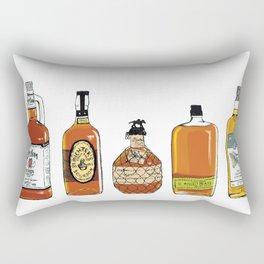 5 Whiskeys Rectangular Pillow
