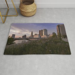 Summer evening in Columbus Rug