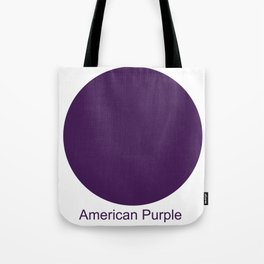 American Purple Tote Bag