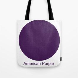 American Purple Tote Bag