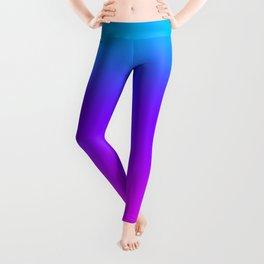 Blue/Pink Gradient Leggings