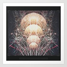 Intention Wired Art Print