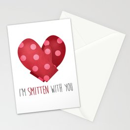 I'm Smitten With You Stationery Cards