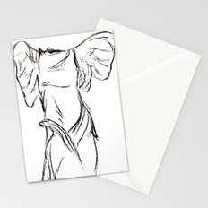 Winged Victory 2 Stationery Cards