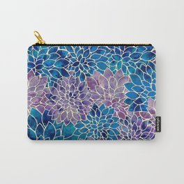 Floral Abstract 34 Carry-All Pouch