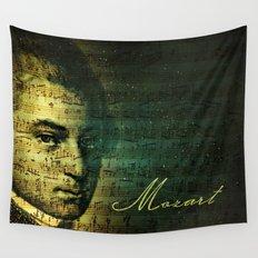 Wolfgang Amadeus Mozart Wall Tapestry