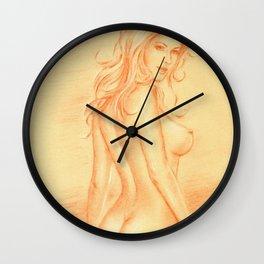 Dream Woman - Female Nude Wall Clock