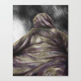 blanket humanoid Canvas Print