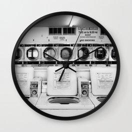 Fresno Laundromat Wall Clock
