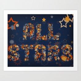 All Stars Art Print