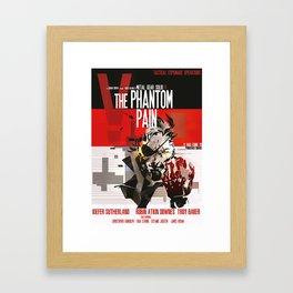 Phantom - Metal Gear  Framed Art Print
