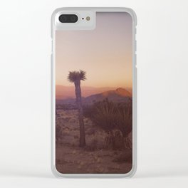 Good Morning Sunshine - Joshua Tree v1 Clear iPhone Case