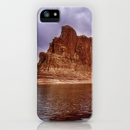 Formation at Lake Powell - Arizona iPhone Case