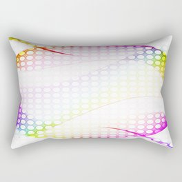 abstract colorful tamplate Rectangular Pillow