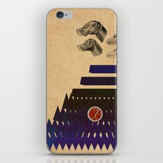 In the woods. iPhone & iPod Skin