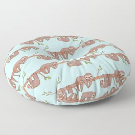 Lazy Baby Sloth Pattern Floor Pillow
