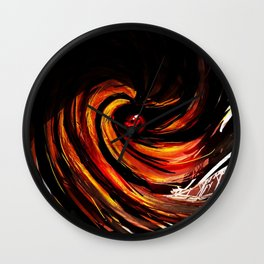 uciha madara Wall Clock