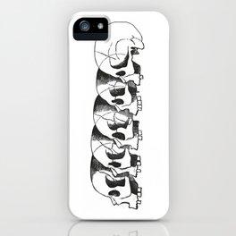 Skulls iPhone Case