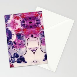 Wine & Flowers Photographic Pattern #2 Stationery Cards