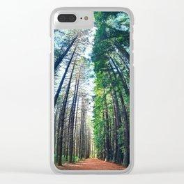 Treeburst Clear iPhone Case