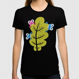 Bugs Eat Green Leaf T-shirt