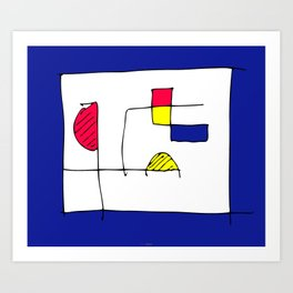 Compo 91 Art Print