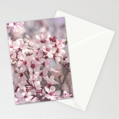 Icy Pink Blossoms - In Memory of Mackenzie Stationery Cards