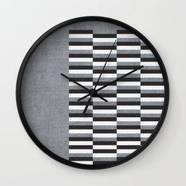 GREY DAY Wall Clock