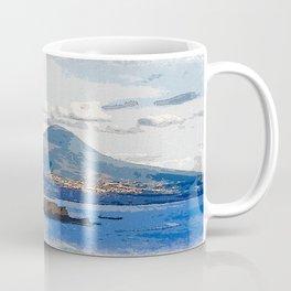 The Bay of Naples, Italy Coffee Mug