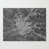 moscow Canvas Prints featuring Moscow by Upperleft Studios