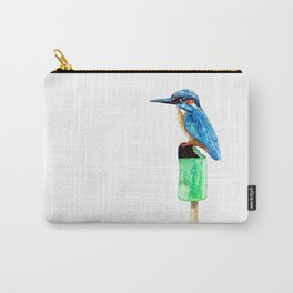 Bird on ice Carry-All Pouch
