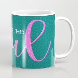 Yoga heals the soul, Yoga lifestyle Coffee Mug