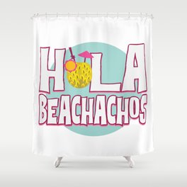 Funny Summer Sun Beach Holiday Vacation Drink Gift Shower Curtain