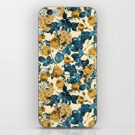 80's summer garden iPhone Skin