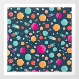 BP 48 Space Art Print