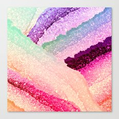 FLAWLESS UNICORN RAINBOW Canvas Print