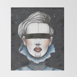 Space Princess Throw Blanket