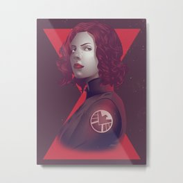The Assassin Metal Print